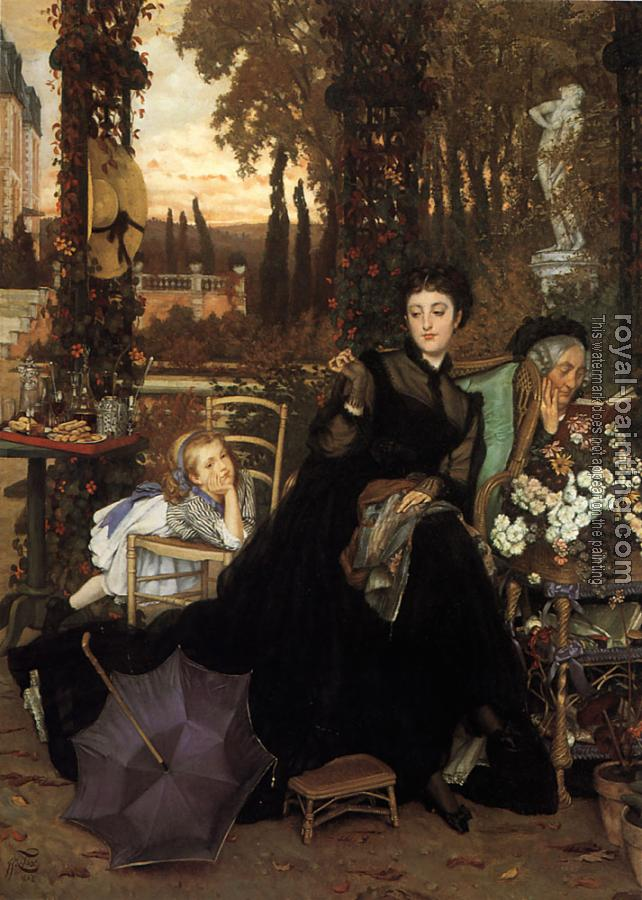 James Tissot : A Widow
